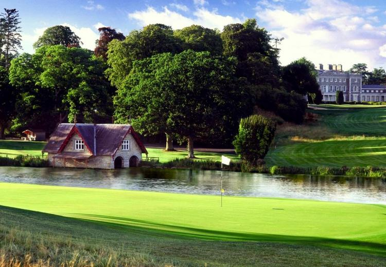 Carton House: 2 Green Fees + A Buggy + Range Balls  (55% OFF)