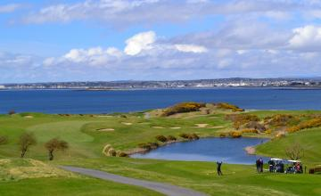 Galway Bay Golf Resort: 2 Green Fees + Trolleys + Range Tokens  (62% OFF)