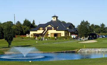 Hollystown Golf Club: 2 Green Fees + 2 Trolleys (51% OFF)