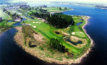 Tulfarris Hotel & Golf Resort: 2 Green Fees + A Buggy  (46% OFF)