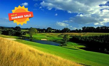 Druids Heath Golf Club: 18 Holes of Golf with Pull Trolleys, Range Balls, Lunch and more for 2 or 4 People (53% OFF)