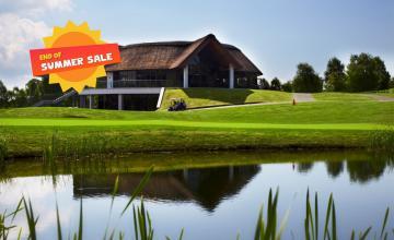 Bunclody Golf & Fishing Club: 2 Green Fees + A Buggy (46% OFF)