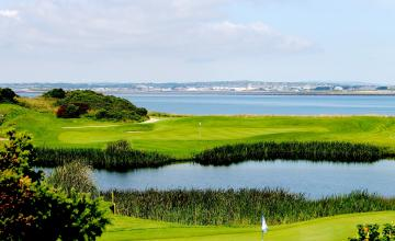 Galway Bay Golf Resort: 2 Green Fees + Tea/Coffee + Range Balls (57% OFF)