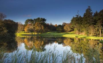 Druids Glen Hotel & Golf Resort: 2 or 4 Green Fees + A Goody Bag + Pull Trolleys (42% OFF)