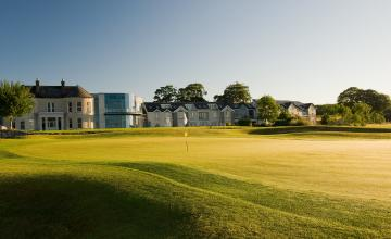 Glasson Hotel & Golf Club: 1 Night B&B + Golf + Spa Credit for 2 People (50% OFF)