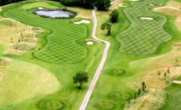 Dunmurry Springs Golf Club: 2 or 4 Green Fees + Trolleys (64% OFF)