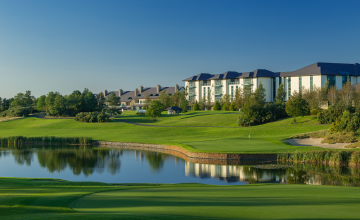 The Heritage Golf Resort: 2 or 4 Green Fees + Buggies (32% OFF)