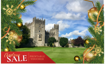 Kilkea Castle Golf Club: 2 Green Fees +  A Buggy   (46% OFF)
