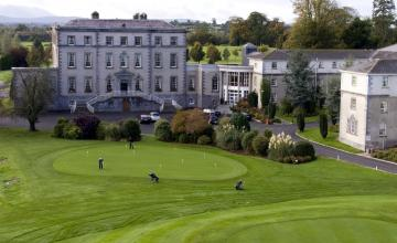 Dundrum House Golf & Leisure Resort:2 Green Fees  + 2 Main Courses (35% OFF)