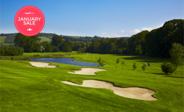 Bunclody Golf & Fishing Club: 2 Green Fees + A Buggy (41% OFF)