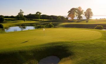 Glasson Golf Club: 2 Green Fees + Tea/Coffee + Trolleys + Range Balls (46% OFF)