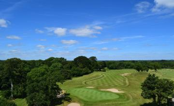 New Forest Golf Club: 2  Green Fees + A  Buggy (31% OFF)