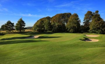 Tulfarris Hotel & Golf Resort: 2 Green Fees + Pull Trolleys + Range Balls  (55% OFF)