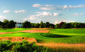 Moyvalley Hotel & Golf Resort: 2 Green Fees + Trolley's (44% OFF)