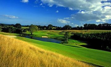 Druids Heath Golf Club: 2 or 4 Green Fees + Pull Trolleys + Range Balls (47% OFF)