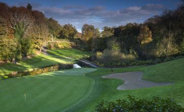 Druids Glen Golf Club: 2 or 4 Green Fees + Pull Trolleys (38% OFF)