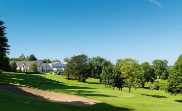 Nuremore Hotel & Country Club: 1 or 2 Nights B&B + A Round of Golf for 2 People including Late Checkout, Access to Leisure Facilities and more (44% OFF)
