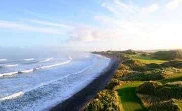 Trump Doonbeg & Dromoland Castle: (Two-Course Deal) 1 Round of Golf at Trump Doonbeg + 1 Round of Golf at Dromoland Castle (49% OFF)