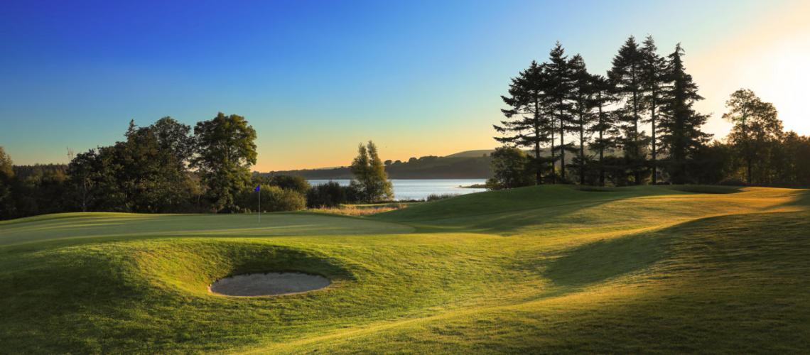 Tulfarris Hotel & Golf Resort: 2 Green Fees + Pull Trolleys