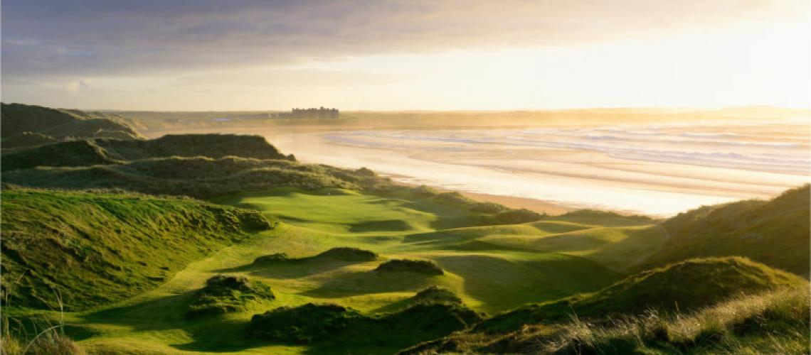 Into the West Golf Special: Green Fee at Trump Doonbeg, Dromoland Castle & Galway Bay