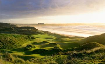 Into the West Golf Special: Green Fee at Trump Doonbeg, Dromoland Castle & Galway Bay  (25% OFF)