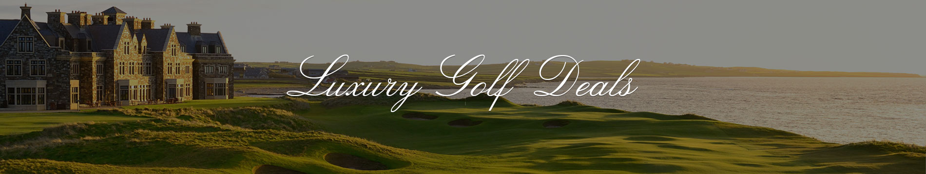 Luxury Golf Deals
