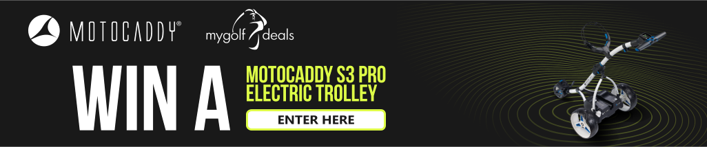 Win A Motocaddy S3 Pro Electric Trolley