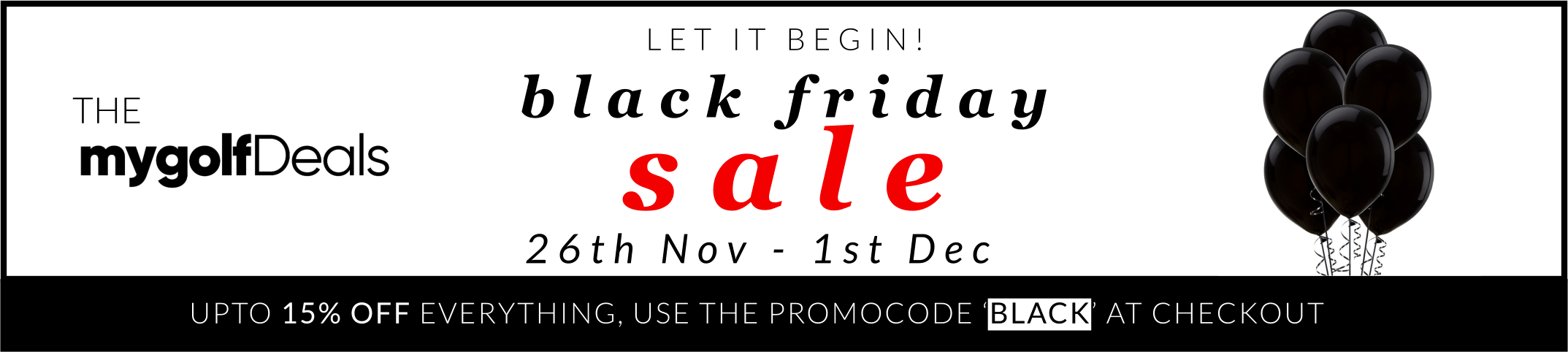 Black Friday Sales - Discount