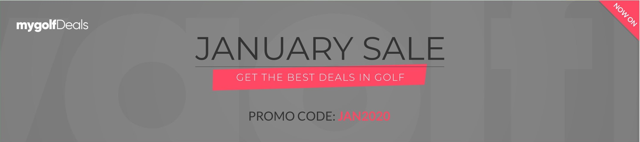 January Sales - Discounted Green Fees